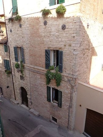 Albergo Morlacchi: View from my room