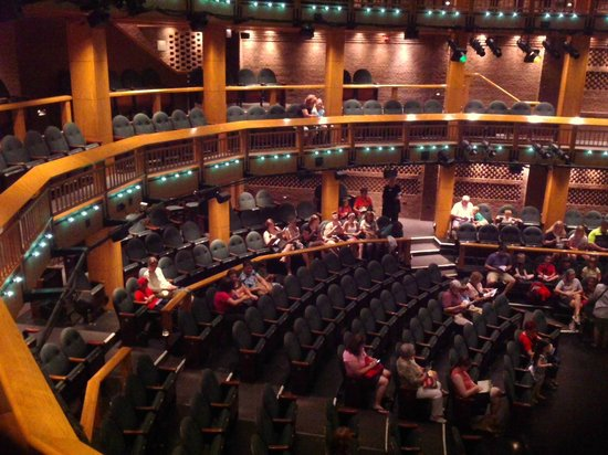Chicago Shakespeare Theater on Navy Pier: View from balcony