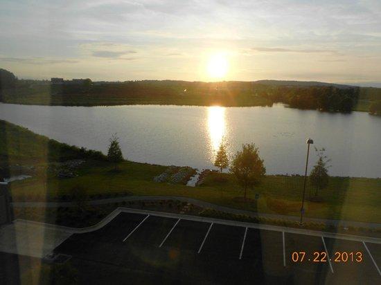 Hampton Inn & Suites Huntsville / Research Park Area: View from Room