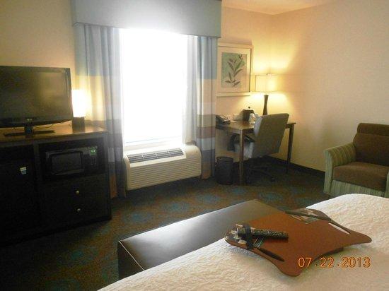 Hampton Inn & Suites Huntsville / Research Park Area: King Corner Room