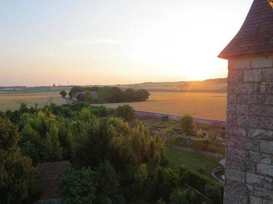Chateau de la Motte : View from Knight's room window