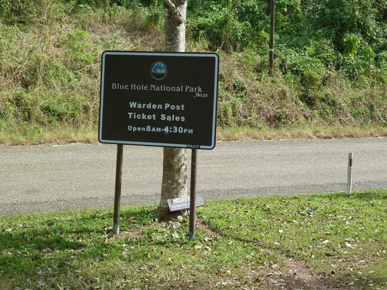 Blue Hole National Park Belize