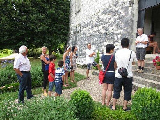 Chateau de la Motte : Tour of the castle by the owner, Jean-Marie