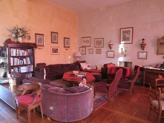 Chateau de la Motte : The Lounge & Sitting area