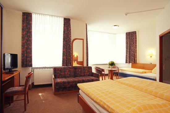 Hotel Hamm : Zimmer