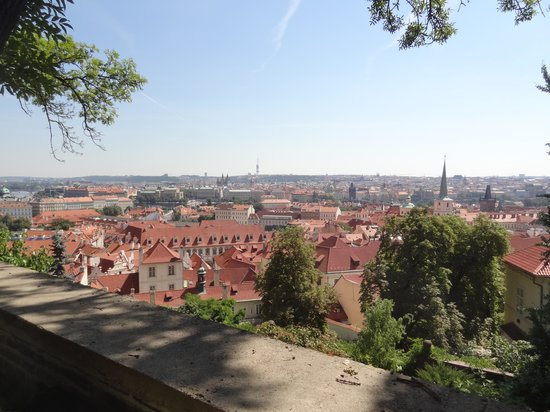 Eva Trkalova Prague Private Tours : View of city from Castle District
