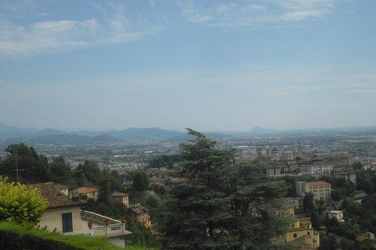 Il Circolino Citta Alta: vista panoramica