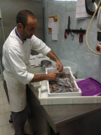 Finibus Terrae: calamari freschi