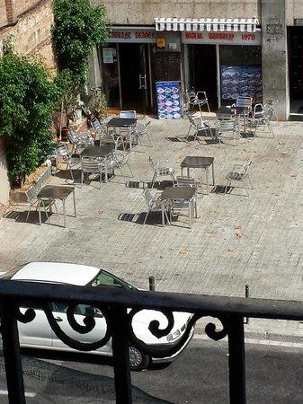 Hotel Catalonia Sagrada Familia: Vista balcone