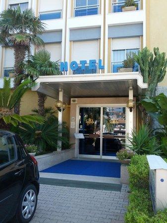Residence Garden Lido : INGRESSO RESIDENCE HOTEL