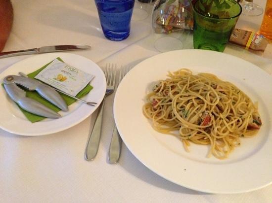 Trattoria Al Mare : spaghetti al granchio