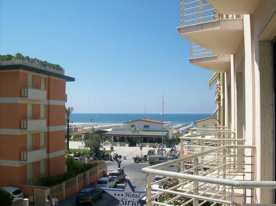 Hotel Sirio: vista dal balcone