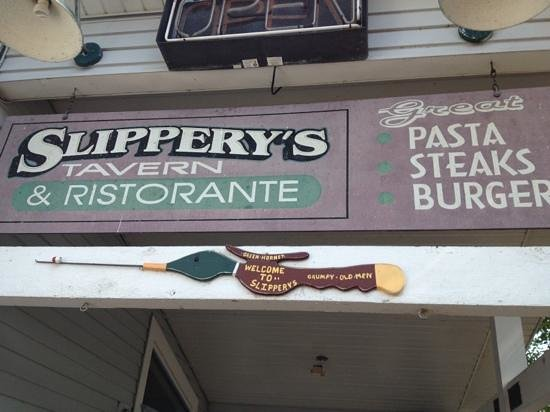 Slippery's Tavern and Restaurant: delicious food