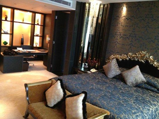 Sofitel Macau At Ponte 16: Black Galaxy bedroom