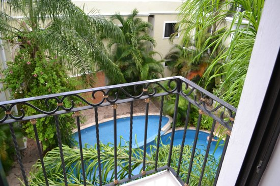 Gran Real Yucatan : piscine depuis la chambre