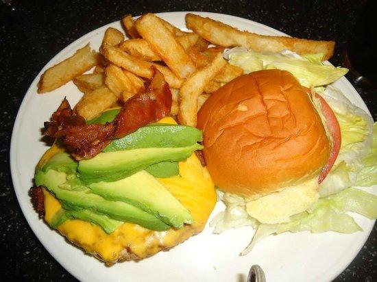 Silver Spurs Restaurant: Turkey burger,ottimo!!!