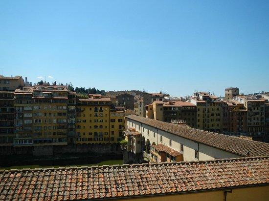 Hotel Hermitage : Ponte Vecchio vue du roof garden