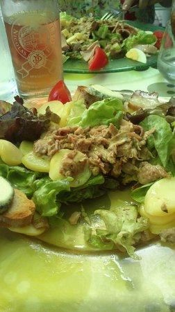 Relais du chateau : Les salades