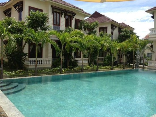 Hoi An Green Field Villas : very nice pool