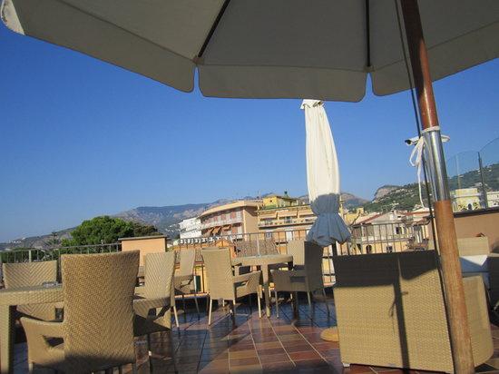 Hotel Palazzo Guardati: la splendida terrazza
