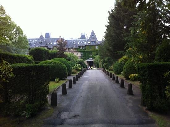 Hôtel Château de Montvillargenne : arrivée