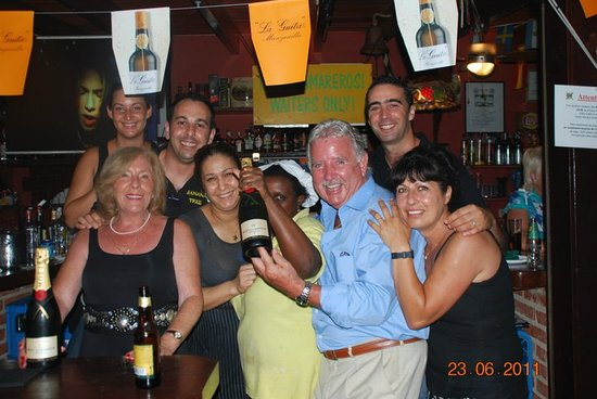 The Banana Tree Bar Marbella : The Best Staff in Town