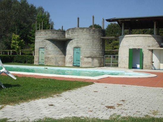 Agriturismo Ca' Guerriera: vista piscina