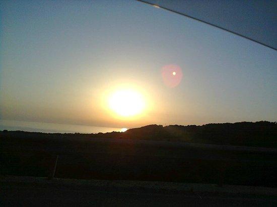 Residence Isola Rossa : uno dei fantastici tramonti