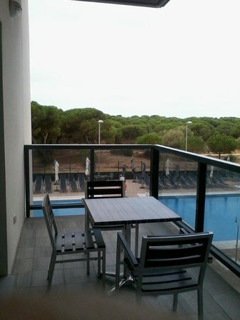 Apartamentos Leo Deluxe: Desde la terraza del apartamento
