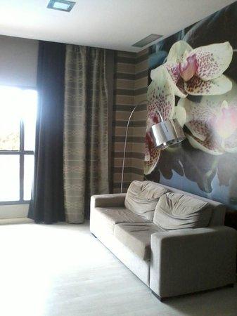 Apartamentos Leo Deluxe: Salón