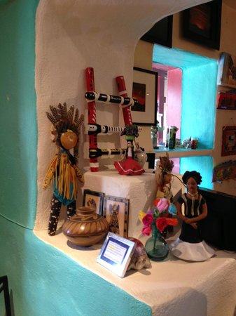 Caffe Greco: native american arts and cratfs, kachinas dolls...