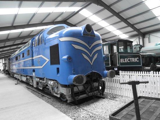 Ribble Steam Railway: BIG BLUE !!!