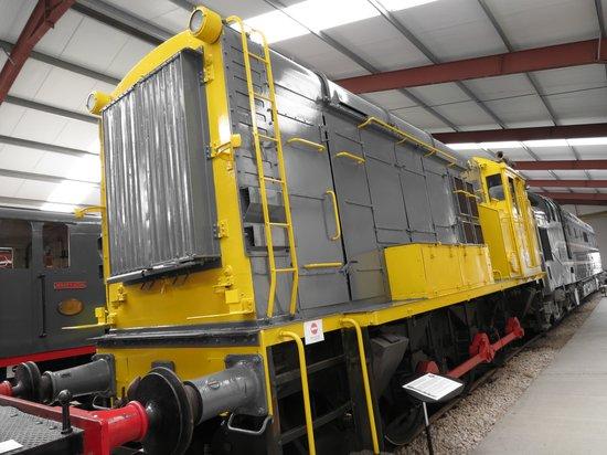 Ribble Steam Railway: BIG YELLOW !