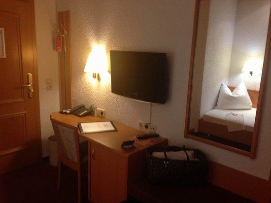 Wohlfühlhotel Rabenhorst: Arbeitsbereich.