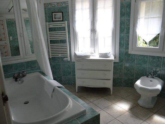 Hotel la Roseraie: bagno