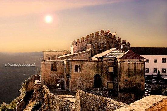 Castelo de Palmela: sunset