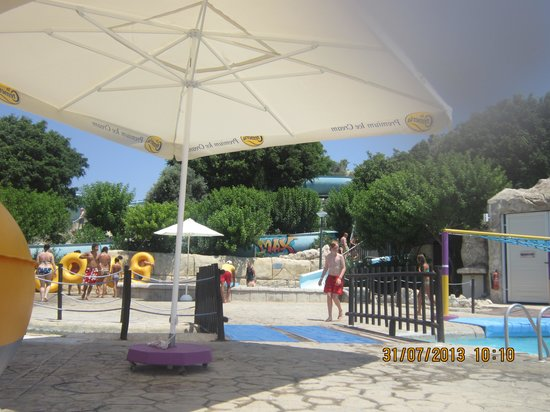 Paphos Aphrodite Waterpark: plenty to do at waterpark