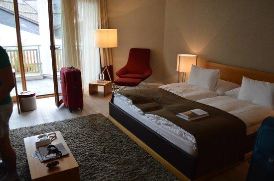 Hotel Schweizerhof: Chambre