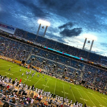 EverBank Field : Jags vs. Eagles