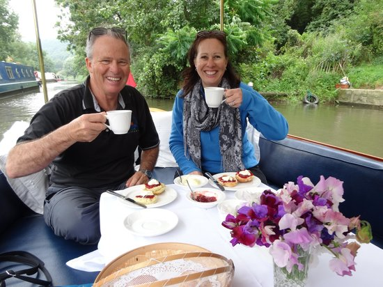 The Lady Lena: Cream Teas on Lady Lena