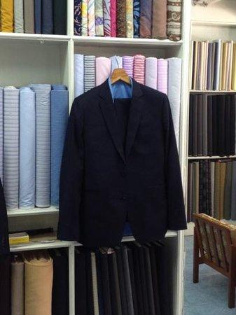 New Moda Custom Tailors: my suit