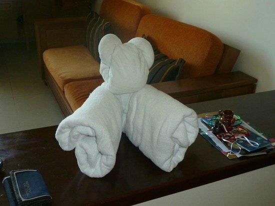Grand Sirenis Riviera Maya Resort & Spa: Left by the maid one day