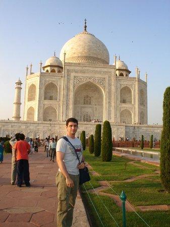 Hotel Panna Paradise : Visita ao Taj Mahal