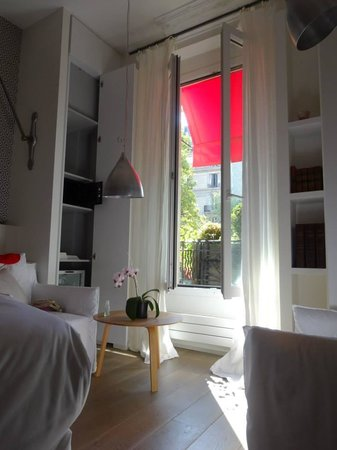 Hotel de Banville : Hotel Room
