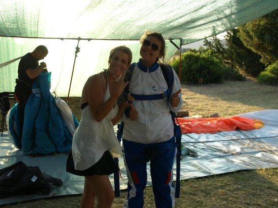 Skydiving Croatia: Martina and Me =)