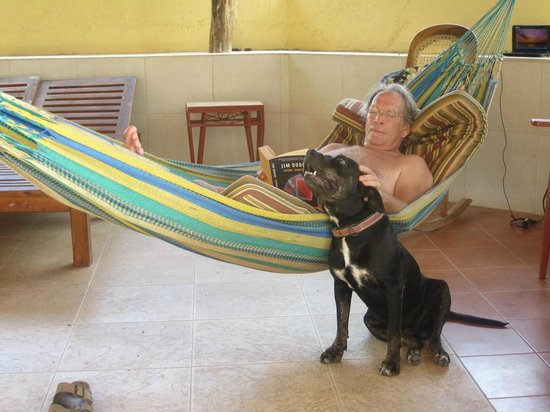 Casa Del Soul : Hanging with the dog
