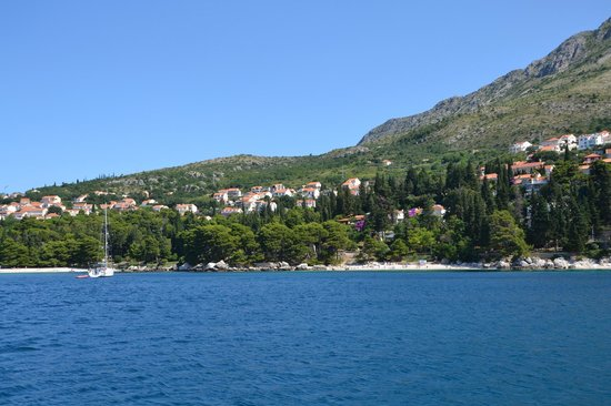 Camping Kate: boat trip to Dubrovnik