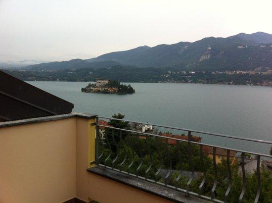 Hotel La Bussola: Vista dal terrazzo
