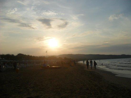 Green Park Village: tramonto