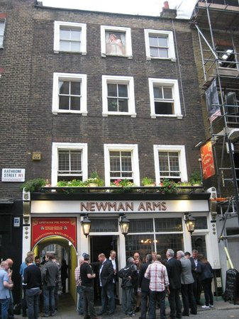 The Cornwall Project at The Newman Arms: Newman Arms Pub & Pie Room, London, England